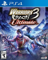 warriors orochi 3 ultimate cover jaquette boxart ps4
