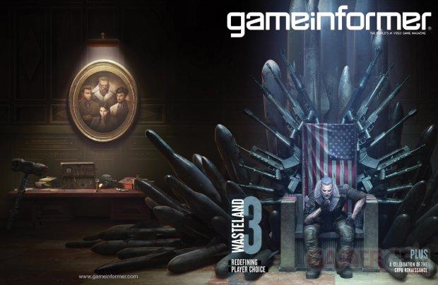 Wasteland 3 Cover Game Informer
