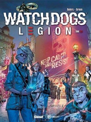 Watch Dogs Legion BD couverture 25 09 2020