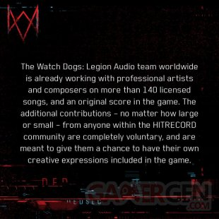 Watch Dogs Legion hitrecord scandale