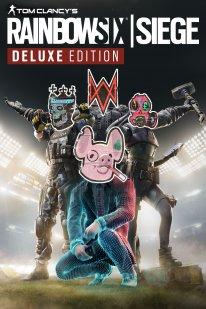 Watch Dogs Legion jaquette piratée hacked cover art Rainbow Six Siege