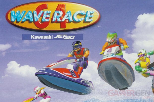wave race 64 nintendo 64 jeu video