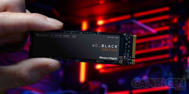 WD Black SN750 NMVe SSD