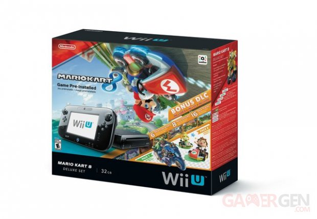Wii U Bundle Mario Kart 8