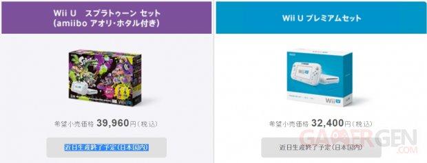 Wii U Fin Production Japon 32 Go Blanc Bundle Splatoon
