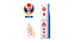 Wiimote Toad
