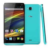Wiko SLIDE turquoise compo01