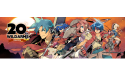Wild Arms Banner 20th Anniversary