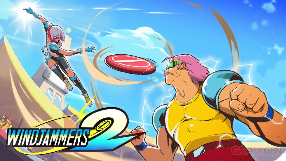 Windjammers 2 Key Visual