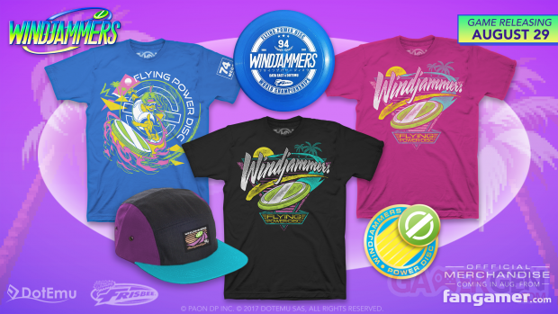 Windjammers Fangamer Merch