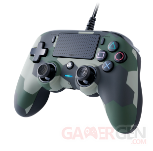 WIRED COMPACT CONTROLLER PLAYSTATION 4 COLORIS CAMOUFLAGE Nacon