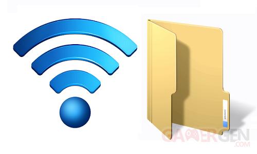 wireless file folder