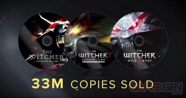 Witcher 33 millions