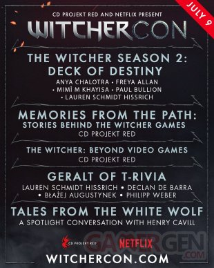 WitcherCon programme 1