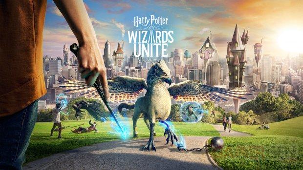 Wizards Unite  keyart