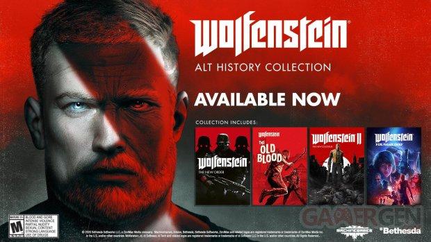 Wolfenstein Alt History Collection key art