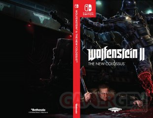 Wolfenstein II New Colossus Switch Cover Jaquette 001