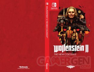 Wolfenstein II New Colossus Switch Cover Jaquette 003