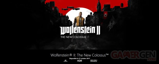 Wolfenstein II New Colossus Xbox One X 4K
