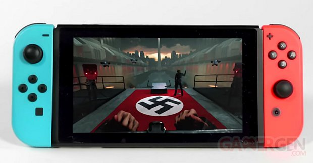 Wolfenstein II The New Colossus Switch images