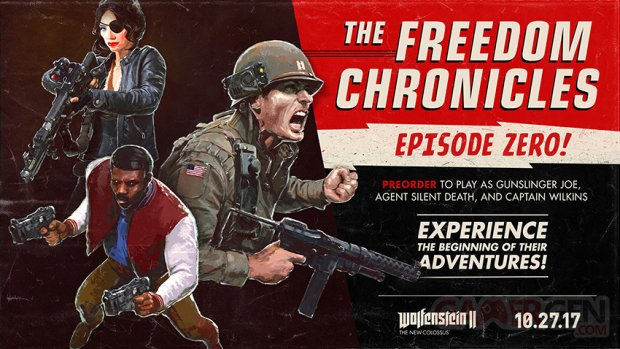 Wolfenstein II The New Colossus The New Chronicles Episode Zero