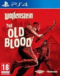 Wolfestein The Old Blood jaquette PS4
