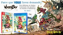 Wonder Boy Dragon Trap Physique Boîte
