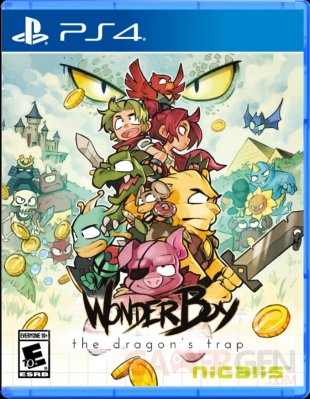 Wonder Boy The Dragon's Trap   Nicalis version physique PS4 et Switch (1)