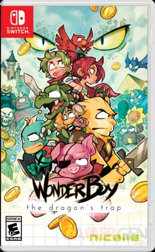 Wonder Boy The Dragon's Trap   Nicalis version physique PS4 et Switch (2)