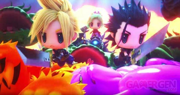 World of Final Fantasy Meli Melo Cinématique Introduction
