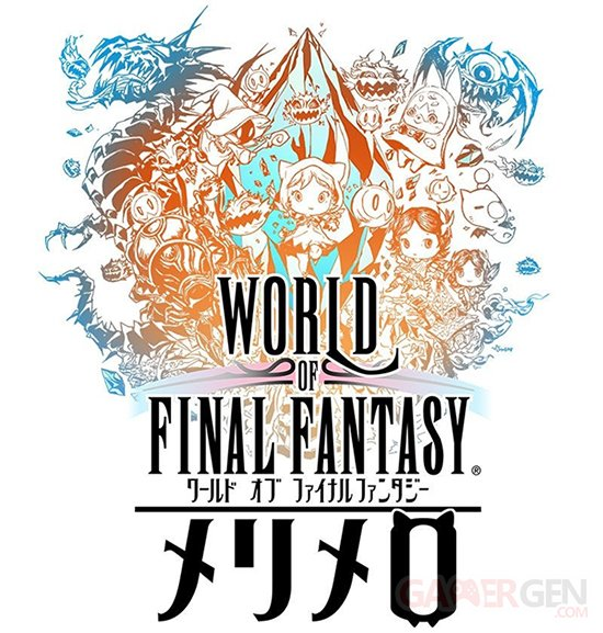 World of Final Fantasy Meli Melo Logo 22 11 2017