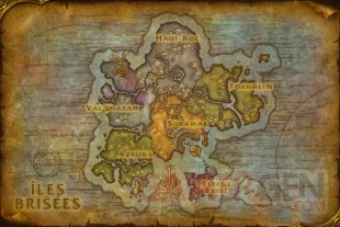 World of Warcraft Légion 06 08 2015 carte