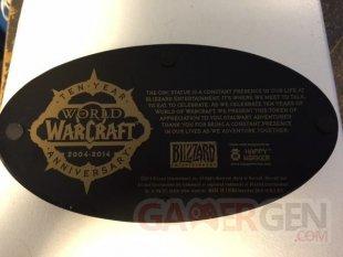 World of Warcraft statue 10 ans 1