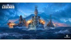 World of Warships: Legends annoncé sur PS4 et Xbox One