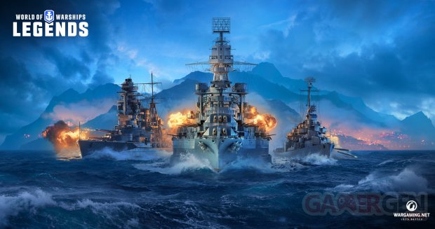World of Warships Legends Artwork 02