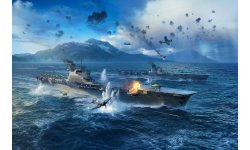 World of Warships MAJ porte avions