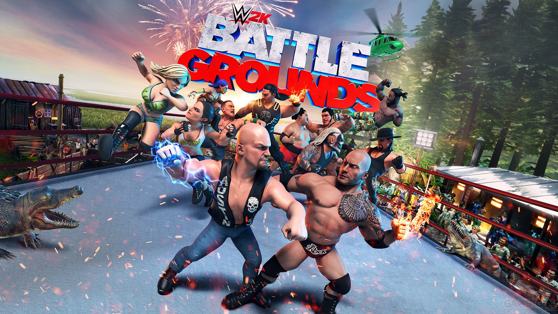 WWE 2K Battlegrounds nous fait la totale