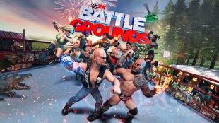 WWE 2K Battlegrounds key art