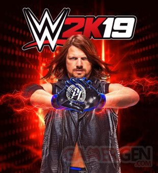 WWE 2K19 cover star jaquette