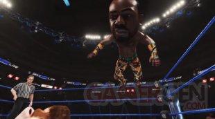 WWE 2K19 head