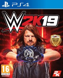 WWE 2K19 jaquette 1
