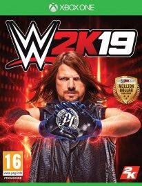 WWE 2K19 jaquette 2