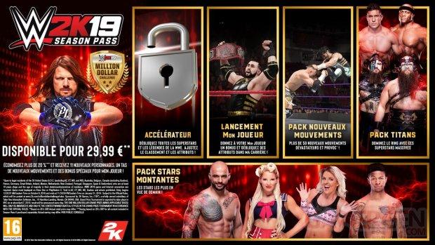 WWE 2K19 Season Pass