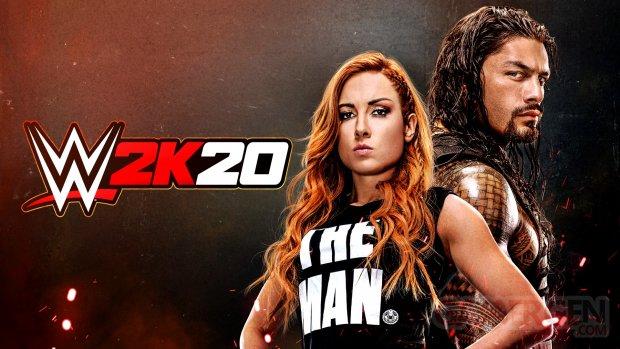 WWE 2K20 head