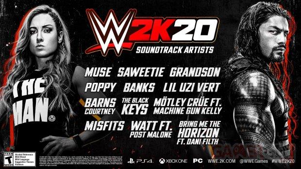 WWE 2K20 pic soundtrack
