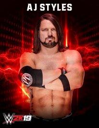 WWE2K19 AJ Styles