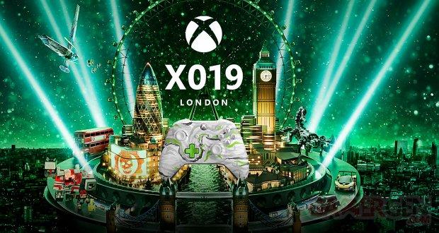 X019 Londres London Xbox One microsoft image