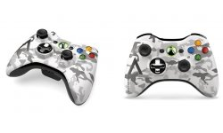 Xbox 360 manette artic camouflage