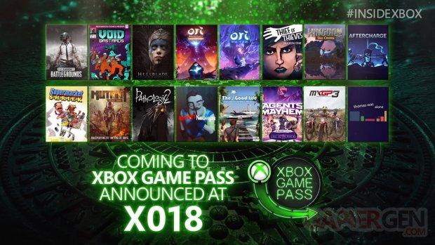 Xbox Game Pass 11 11 2018