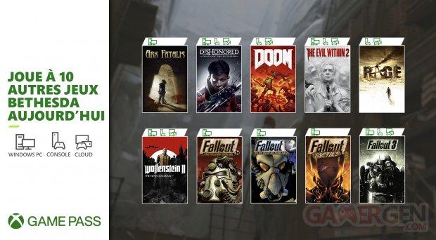 Xbox Game Pass 13 06 2021 nouveautés E3